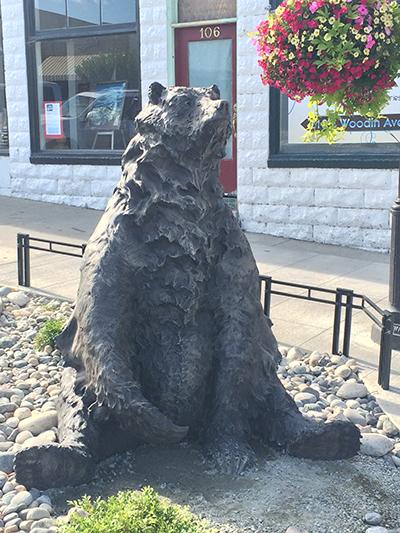 Huckleberry Daze - Seated Grizzly Bear