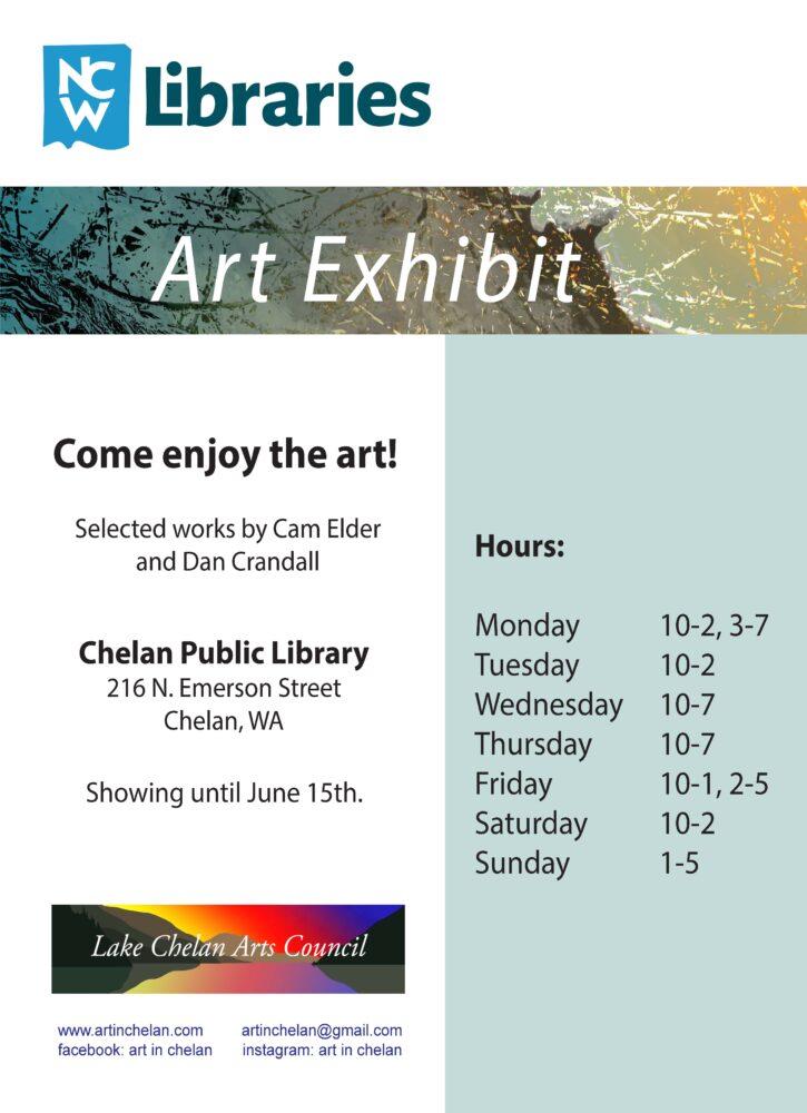 Chelan Library Art Exhibit