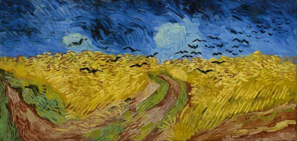 Crows in a Wheat Field